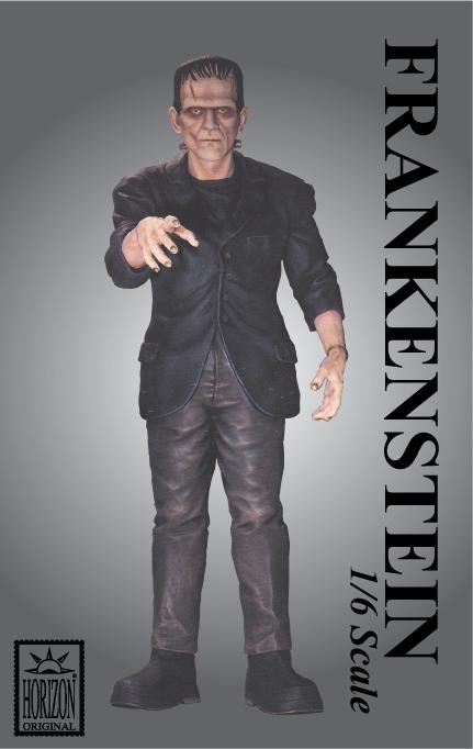 Frankenstein 1/6 scale vinyl model kit